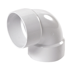 NDS 3-in Dia 90-Degree PVC Elbow Fitting
