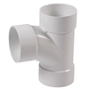 3-in Dia PVC Sanitary Tee Fitting