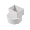 NDS 2-in x 3-in x 4-in Dia PVC Adapter Coupling Fitting