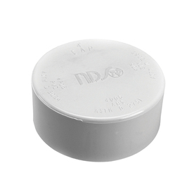 NDS 4-in Dia PVC Sewer Drain Cap