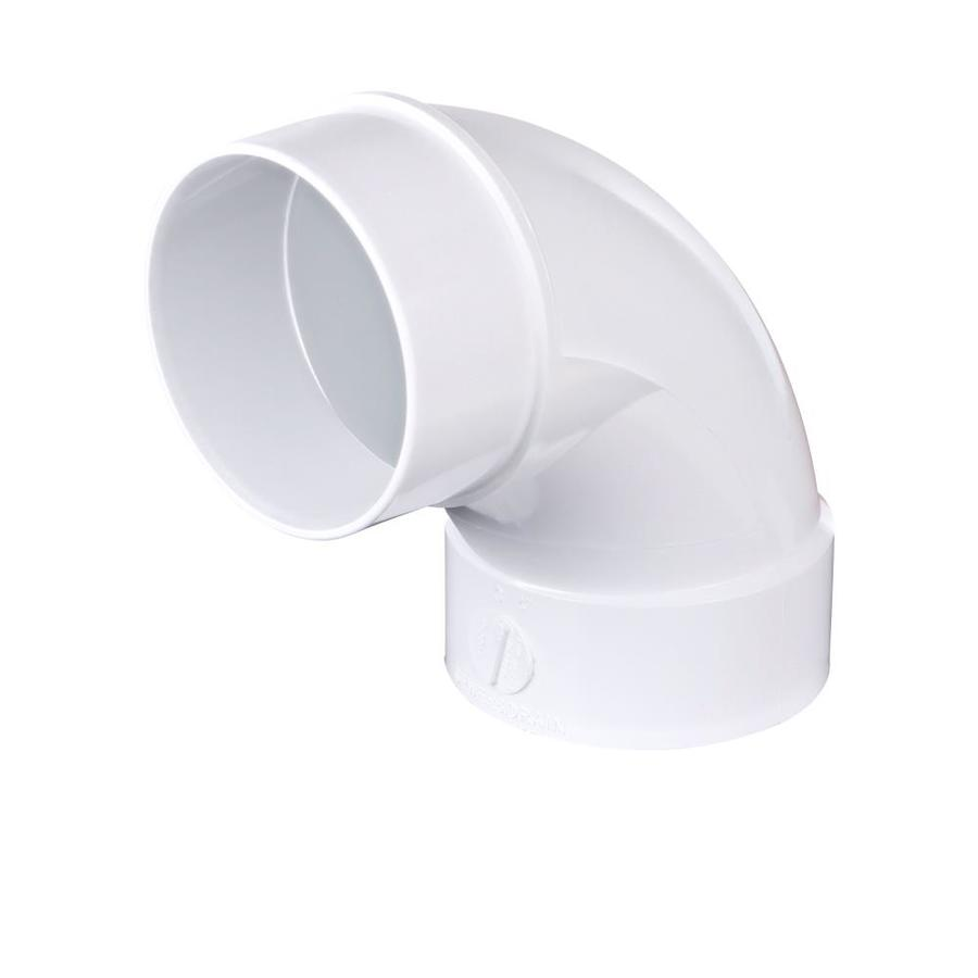 Shop in dia degree pvc sewer drain street elbow at