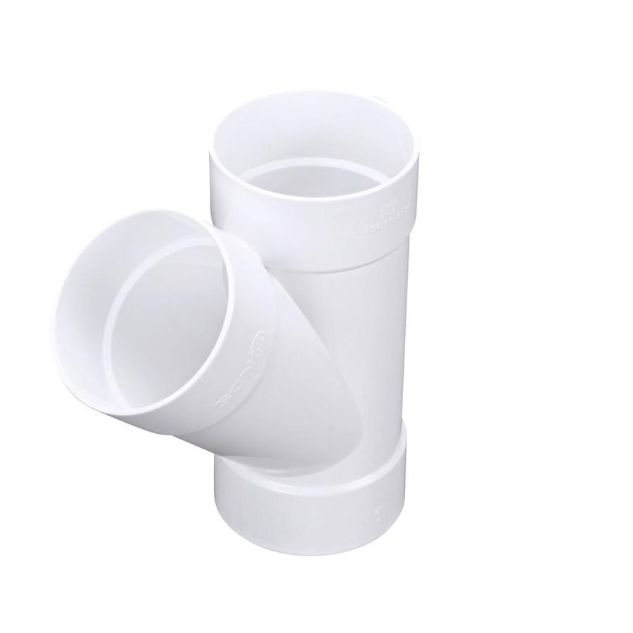Shop in dia degree pvc sewer drain wye at lowes