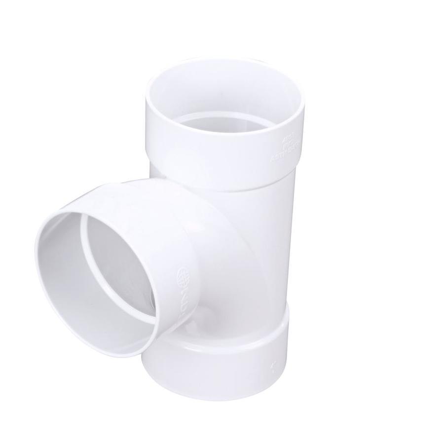 Shop dia pvc sewer drain sanitary tee at lowes