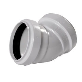 NDS 4-in Dia 45-Degree PVC Sewer Drain Sanitary Elbow