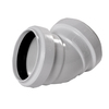 NDS 4-in Dia. 45-Degree PVC Sewer Drain Sanitary Elbow