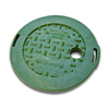 NDS 6-in W x 1-in H Round Irrigation Valve Box