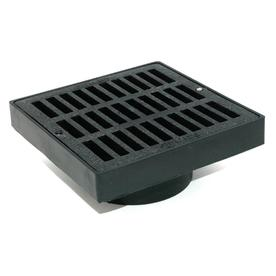 NDS 4-in Dia. Square Low Profile Adapter Grate