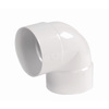 NDS 6-in Dia 90-Degree PVC Sewer Drain Elbow