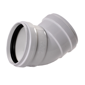 NDS 6-in Dia 45-Degree PVC Elbow Fitting