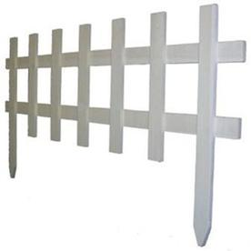 Greenes Fence Company Garden Picket Fence At Lowes Wood