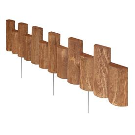 Greenes 3'L Brown Half-Log Edging