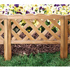 Greenes Cedar Stain Garden Fencing (Actual: 0.75-in x 19.5-in)