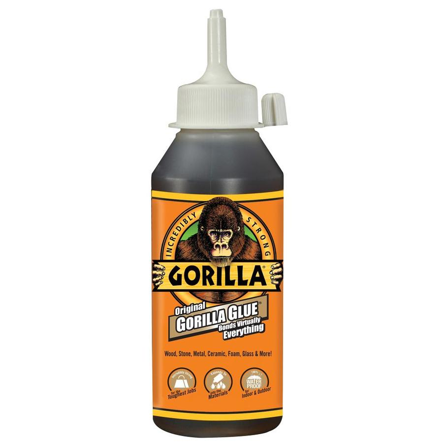Shop GORILLA GLUE Original 8-oz Polyurethane Adhesive at Lowes.com