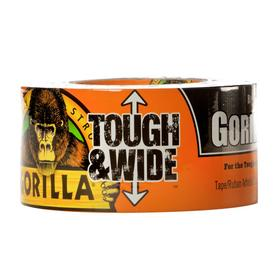 GORILLA 2.88-in x 90-ft Black Duct Tape