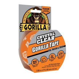 GORILLA 1.88-in x 27-ft Clear Duct Tape