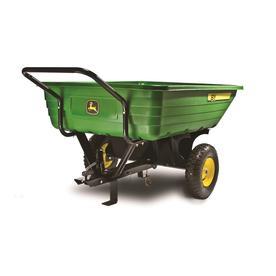 John Deere 8-cu ft Plastic Dump Cart