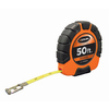 KESON 50-ft ABS with Rubber Grip Nylon Coated Steel Blade Long Tape