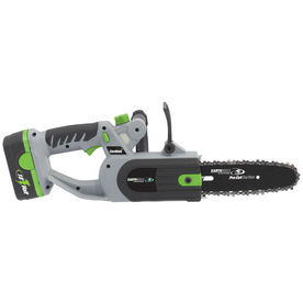 Earthwise 18-Volt Nickel Cadmium (NiCd) 8-in Cordless Electric Chain Saw