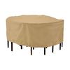 Classic Accessories Terrazzo Sand Dining Set Cover