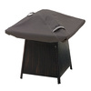 Classic Accessories Ravenna 0.2-in Dark Taupe Square Firepit Cover
