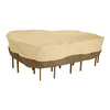 Classic Accessories Veranda Pebble and Bark Dining Set Cover