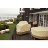 Classic Accessories 60-in Pebble/Bark/Earth Round Firepit Cover