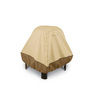 Classic Accessories 35-in Pebble/Bark/Earth Square Firepit Cover