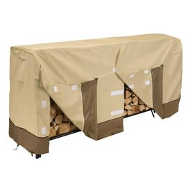 Classic Accessories 8-ft 2-in L x 26-in W x 44-in H Polyester Firewood Cover
