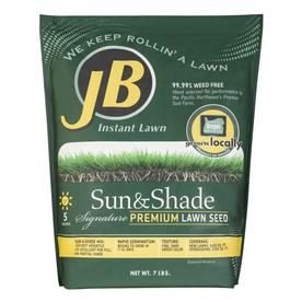 JB Instant Lawn Signature 7 lbs Sun and Shade Grass Seed Mixture