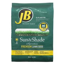JB Instant Lawn Signature 25 lbs Sun and Shade Grass Seed Mixture