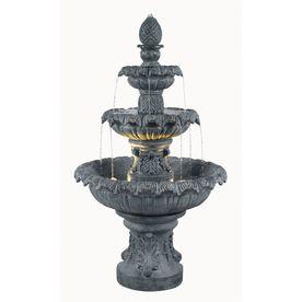 Kenroy Home Costa Brava 46-in Outdoor Fountain