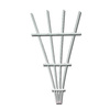 California Home & Garden 20-in W x 48-in H White Traditional Garden Trellis