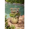 California Home & Garden 16-in W x 24-in H Brown Stain Traditional Garden Trellis