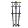 California Home & Garden 24-in W x 72-in H Black Latex Paint Traditional Garden Trellis