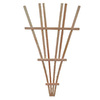 California Home & Garden 20-in W x 48-in H Brown Stain Traditional Garden Trellis