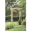 California Home & Garden 64-in W x 88-in H Water-Base Sealer Stylish Garden Arbor
