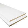  3/4-in x 16-in x 8-ft White Particleboard Bullnose-Edged Shelf