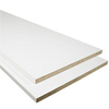 3/4-in x 16-in x 4-ft White Particleboard Square-Edged Shelf