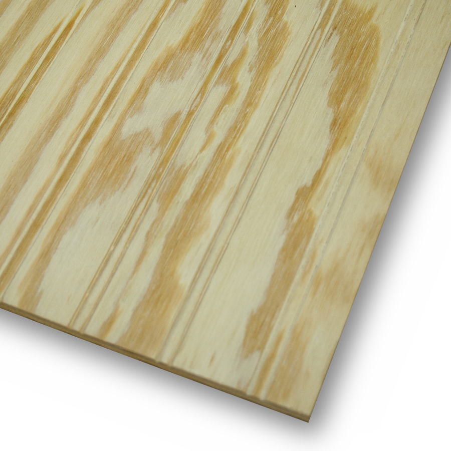 Shop Beaded Plywood Untreated Wood Siding Common 48 In X 96 In Actual 48