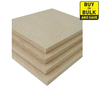 Commercial Particle Board (Common: 3/4-in x 48-in x 96-in; Actual: 0.75-in x 49-in x 97-in)