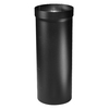 Selkirk 17.5-in L x 20.25-in Dia Black Insulated Double-Wall Steel Stove Pipe