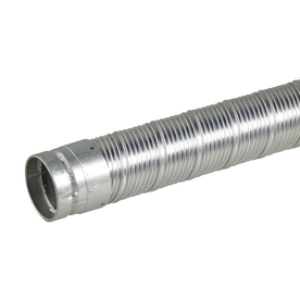 Selkirk 3-1/2-in x 4-1/2-ft Corrugated Solid Pipe