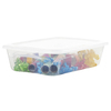 Style Selections 28-Quart Clear Underbed Tote with Standard Snap Lid