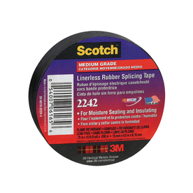 3M 3/4-in x 15-ft Rubber Splicing Electrical Tape