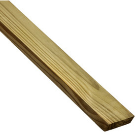 Top Choice Appearance Grade Pressure Treated Lumber (Common: 1 x 4 x 12; Actual: 0.75-in x 3.5-in x 144-in)