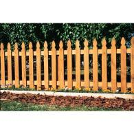 Lowes Picket Fence Garden Fencing