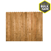 Severe Weather Cedar Privacy Fence Panel (Common: 8-ft x 6-ft; Actual: 8-ft x 6-ft)