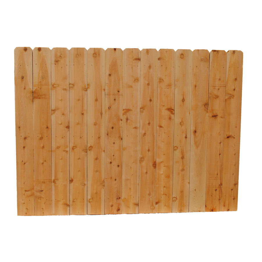 Incense Cedar Dog Ear Fence Picket