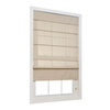 allen + roth Linen Light Filtering Polyester Fabric Roman Shade (Common 35-in; Actual: 34.5-in x 72-in)