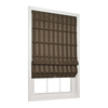 allen + roth 23-in W x 72-in L Café Light Filtering Fabric Roman Shade